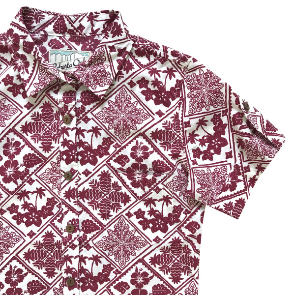 Tropical Motif Ladies Aloha - LAST ONE SIZE S