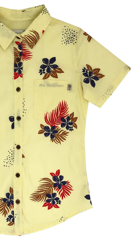 Painted Flowers in Sunshine Ladies - SIZE XS & S ONLY