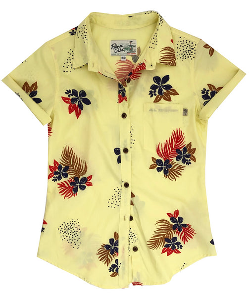 Painted Flowers in Sunshine Ladies - NEW