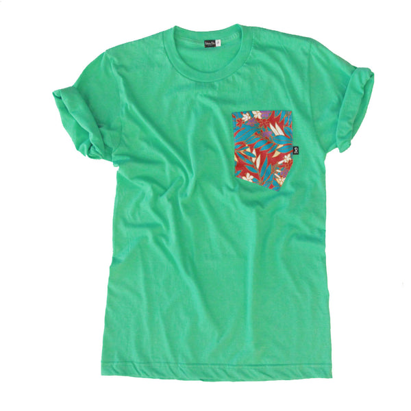 Aloha Tee - Amazon Mint