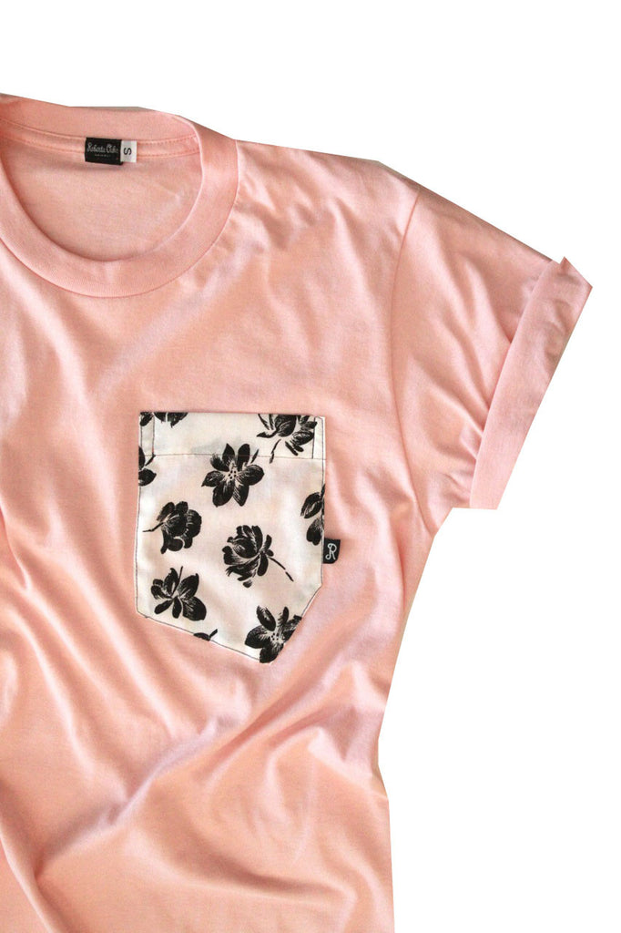 Aloha Tee - Brooklyn Miami Peach