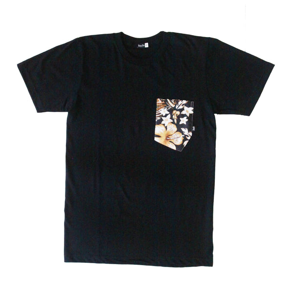 Aloha Tee -  Tiki Nights Black
