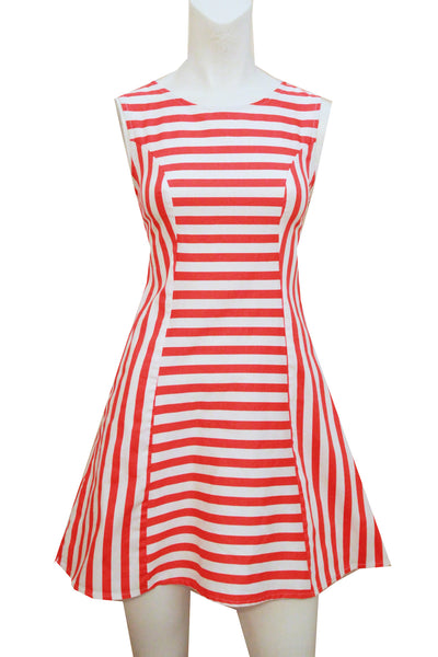 Betty - Hot Orange Stripe