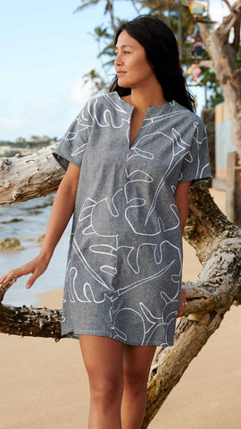 Monstera Ash Mini Kaftan + S ONLY