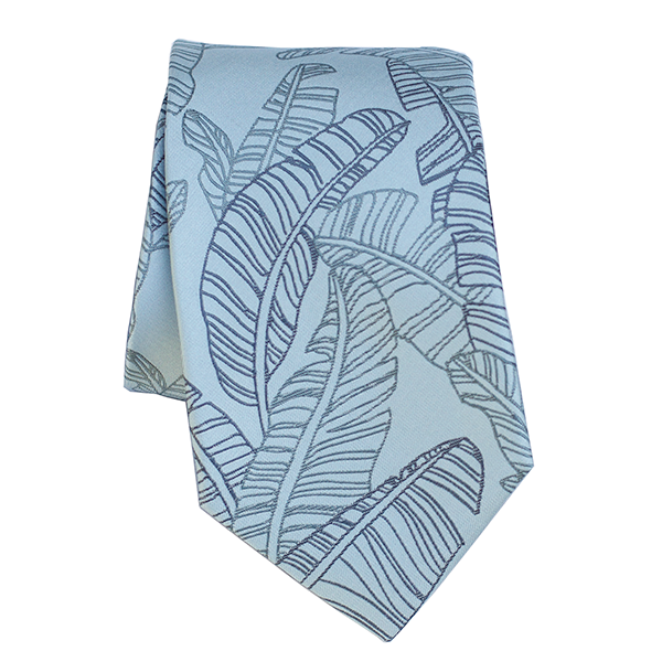 Mai'a Light Blue Modern Tie