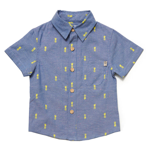 Kids Pineapple Pop Chambray - ALL SIZES BACK IN STOCK!