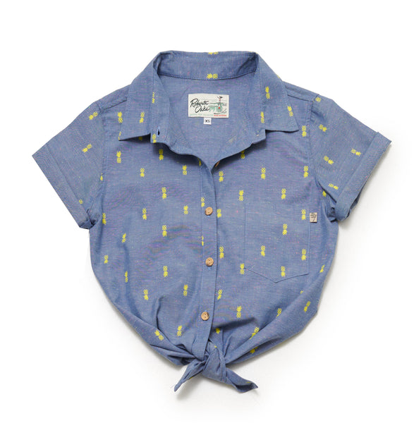 Pineapple Pop Chambray Ladies