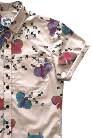 Pow! Wow! Hawaii 2018 Electric Orchid Shirt