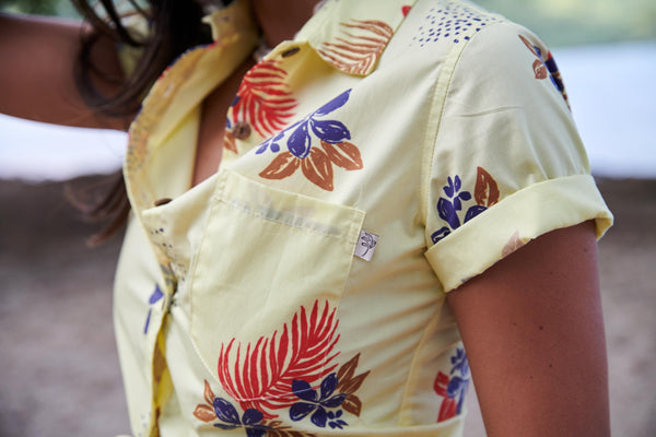 Painted Flowers in Sunshine Ladies - MAY 13 RESTOCK IN ALL SIZES