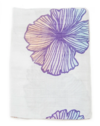 Swaddle Blanket - Seaflower