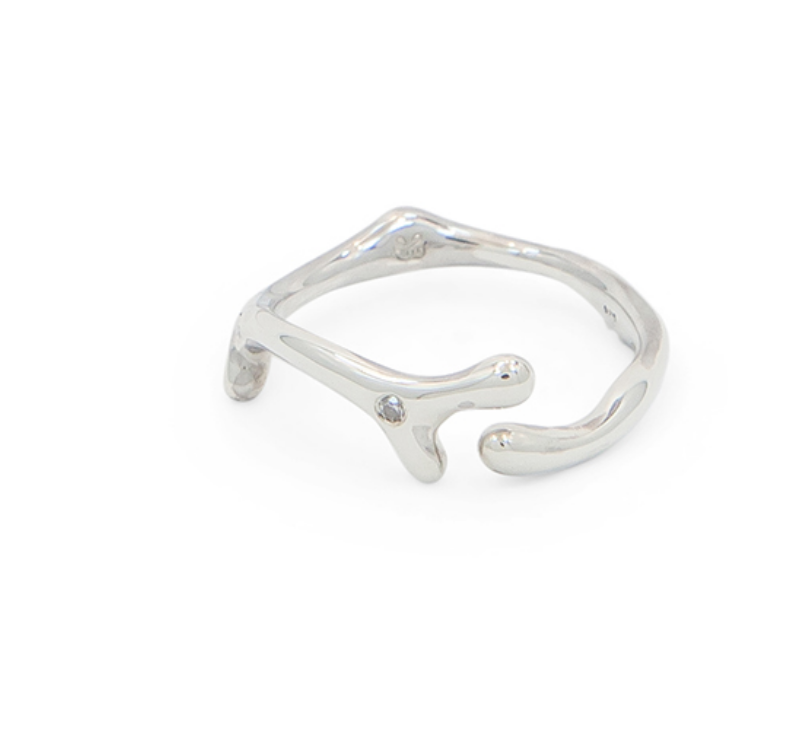 Limu Ring Sterling Silver