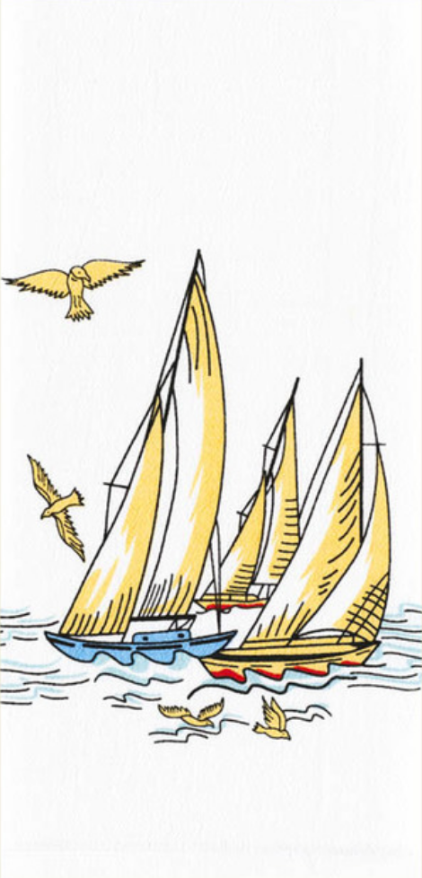 Wind In Your Sails- Kitchen Towel