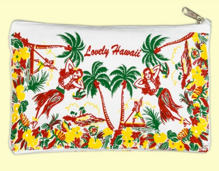 Lovely Hawaii Pouch