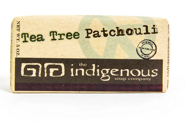 Indigenous Soap- Tea Tree Patchouli