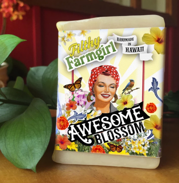 Filthy Farmgirl Soap- Awesome Blossom