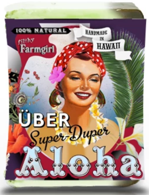 Filthy Farmgirl Soap- Uber Super Duper Aloha