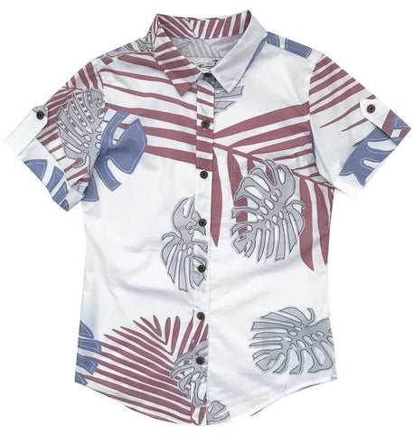 Waikane White - Ladies Aloha - LAST ONE SIZE XS!