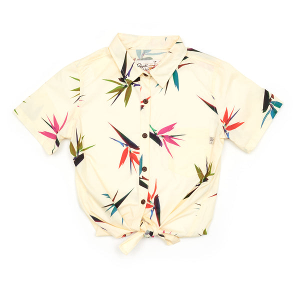 Bird of Paradise Pale Yellow Ladies - ALL SIZES BACK IN STOCK