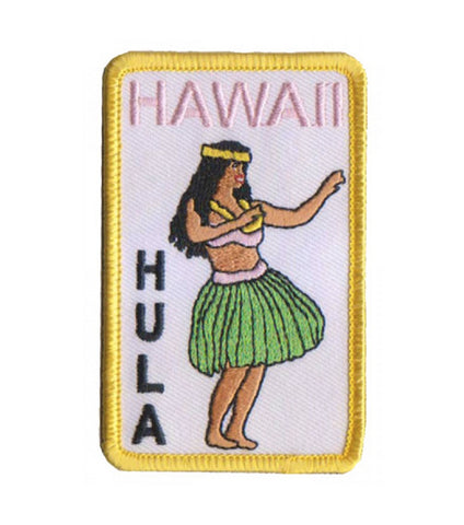 HAWAII HULA PATCH