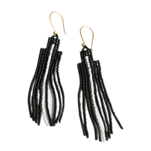 ARROW EARRING - BLACK
