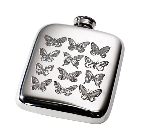 Butterfly Flask 4oz.