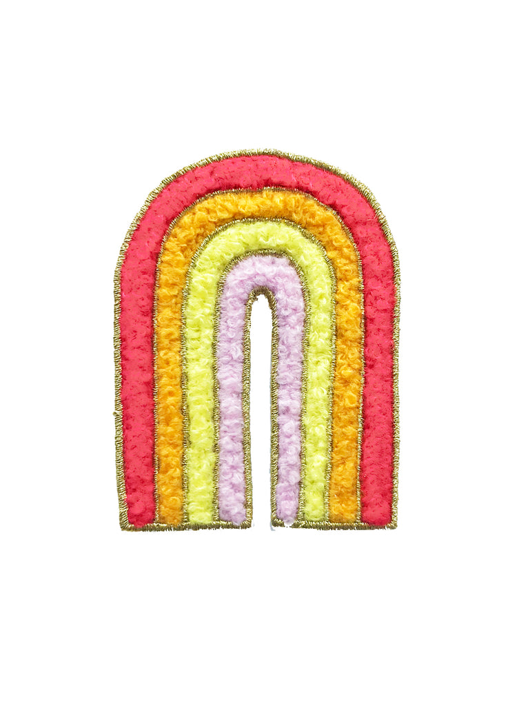 RAINBOW CHENILLE PATCH