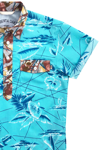 South Seas Pullover Aqua - NEW