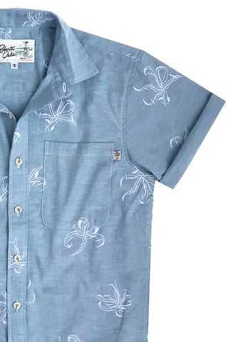 Manele Spider Lily - Chambray