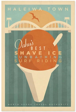 Shave Ice Poster by Nick Kuchar