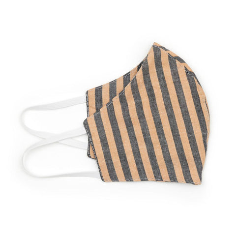 Neutral Stripe Face Mask - NEW!