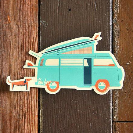 Van Life Sticker by Nick Kuchar