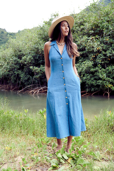 Roberta Denim Maxi - NEW!