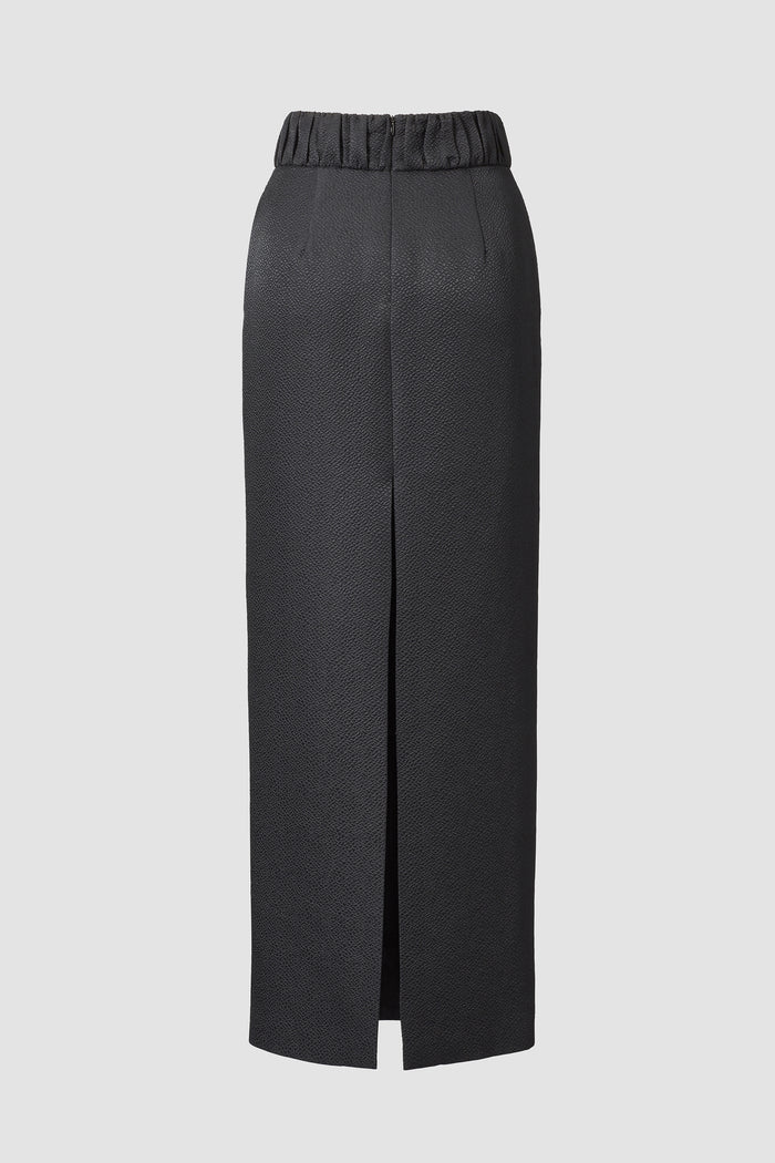 Tove Celeste Maxi Pencil Skirt Black