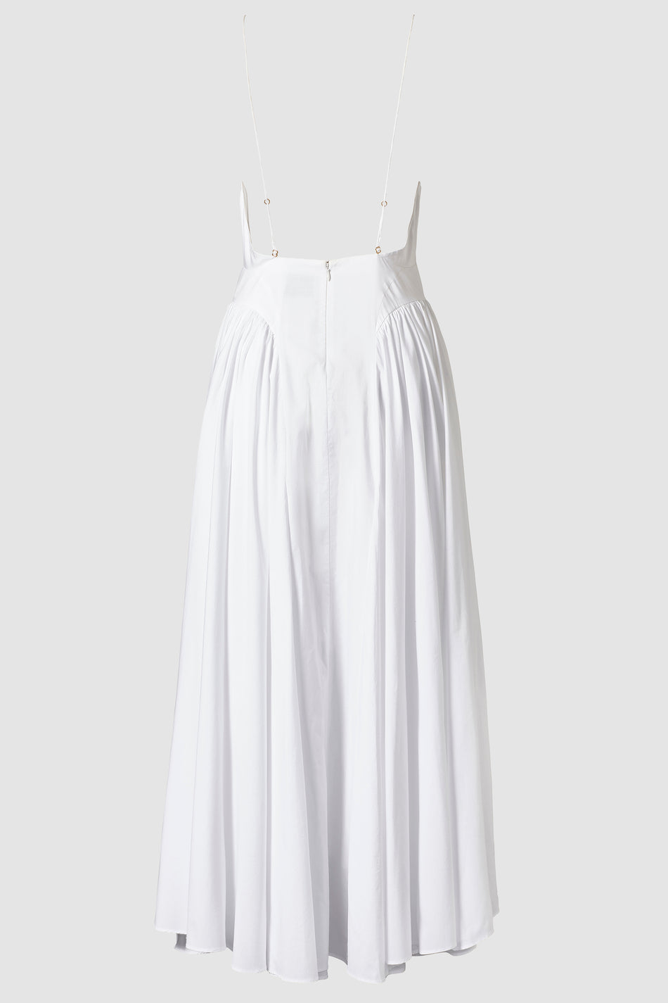Tove Manon Cotton Midi Dress White