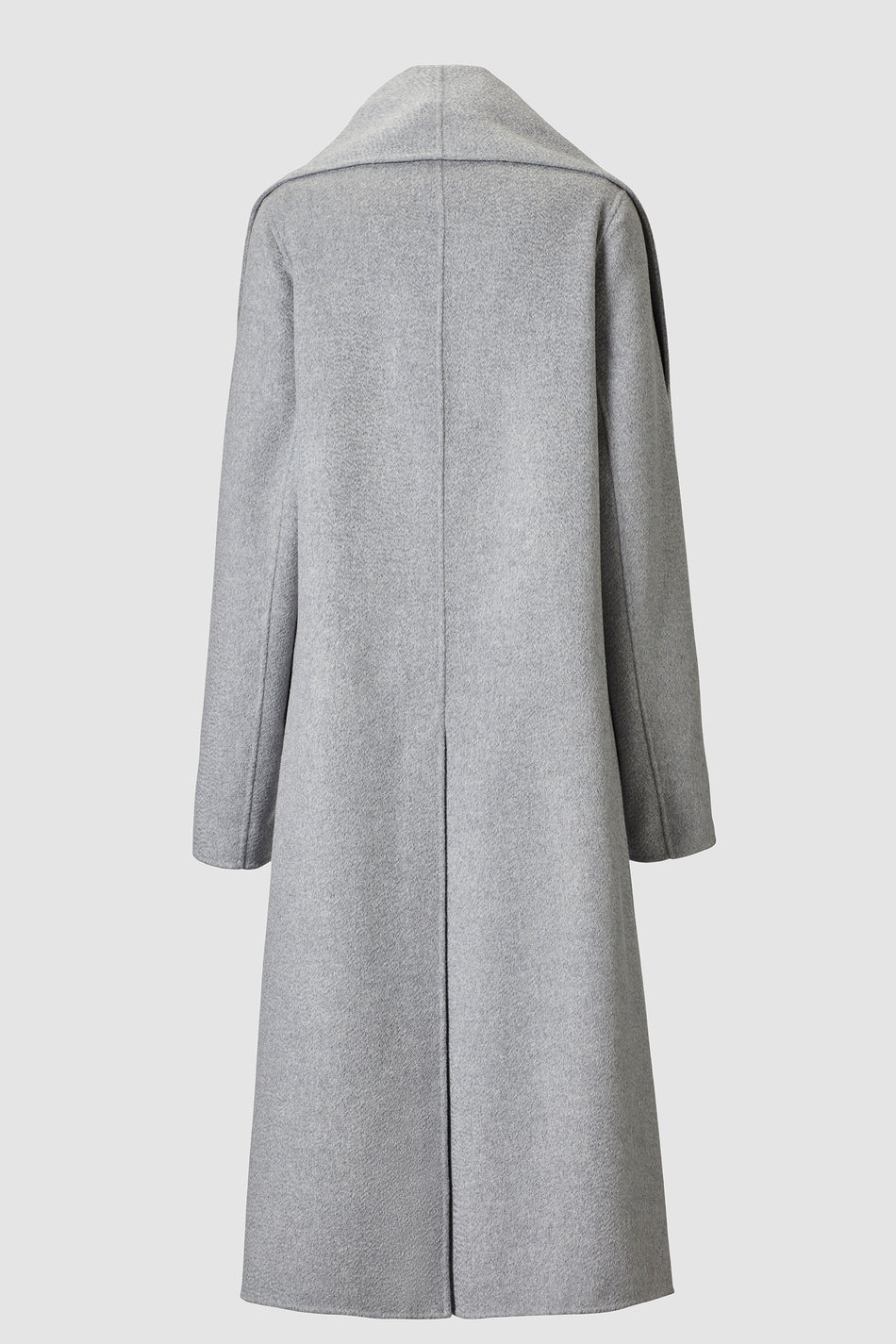 Tove Mio Lambswool Scarf Coat Grey
