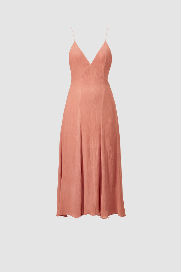 Celise Slip Dress Umber