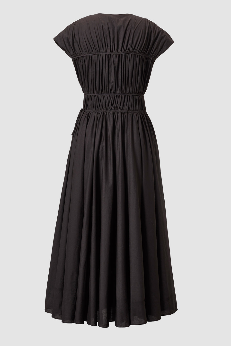 Tove Ceres Cotton Midi Dress Black