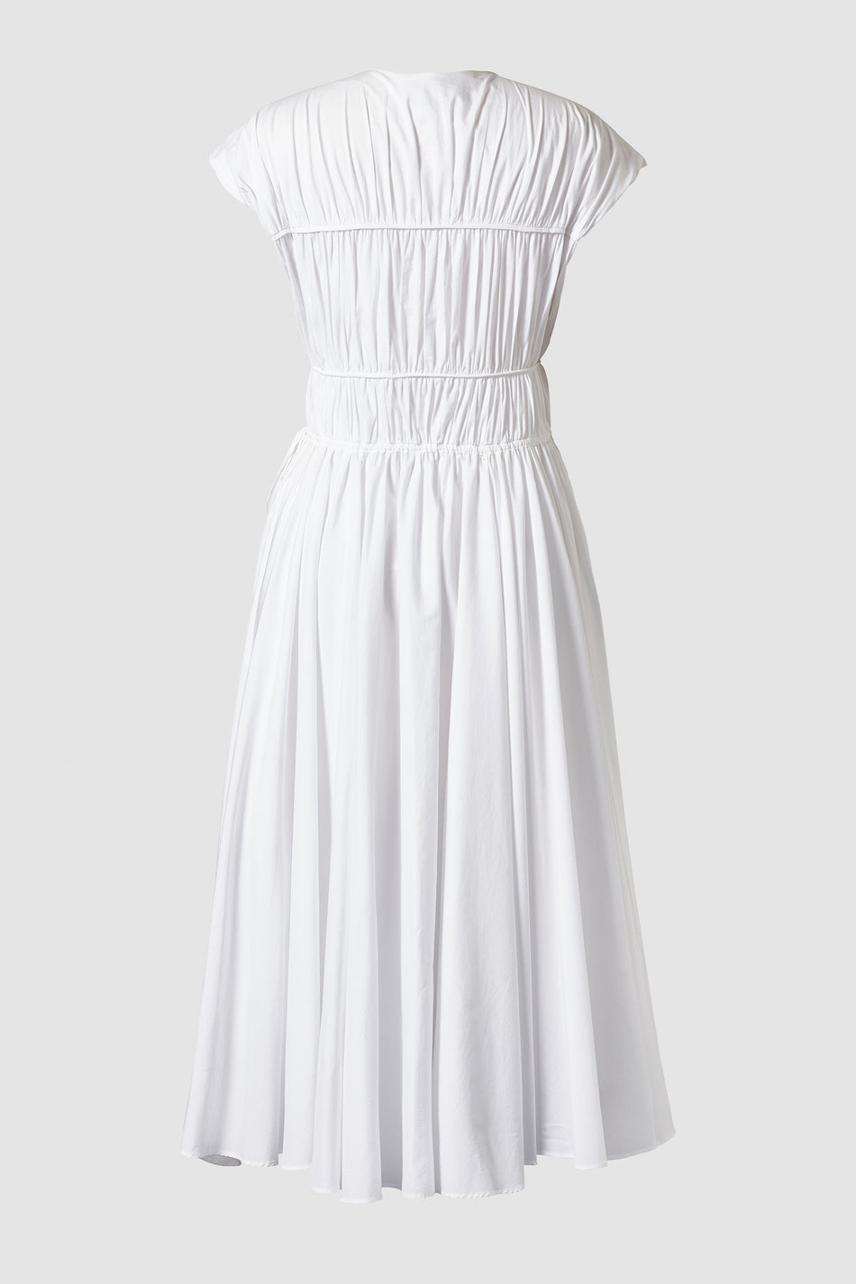Tove Ceres Cotton Midi Dress White