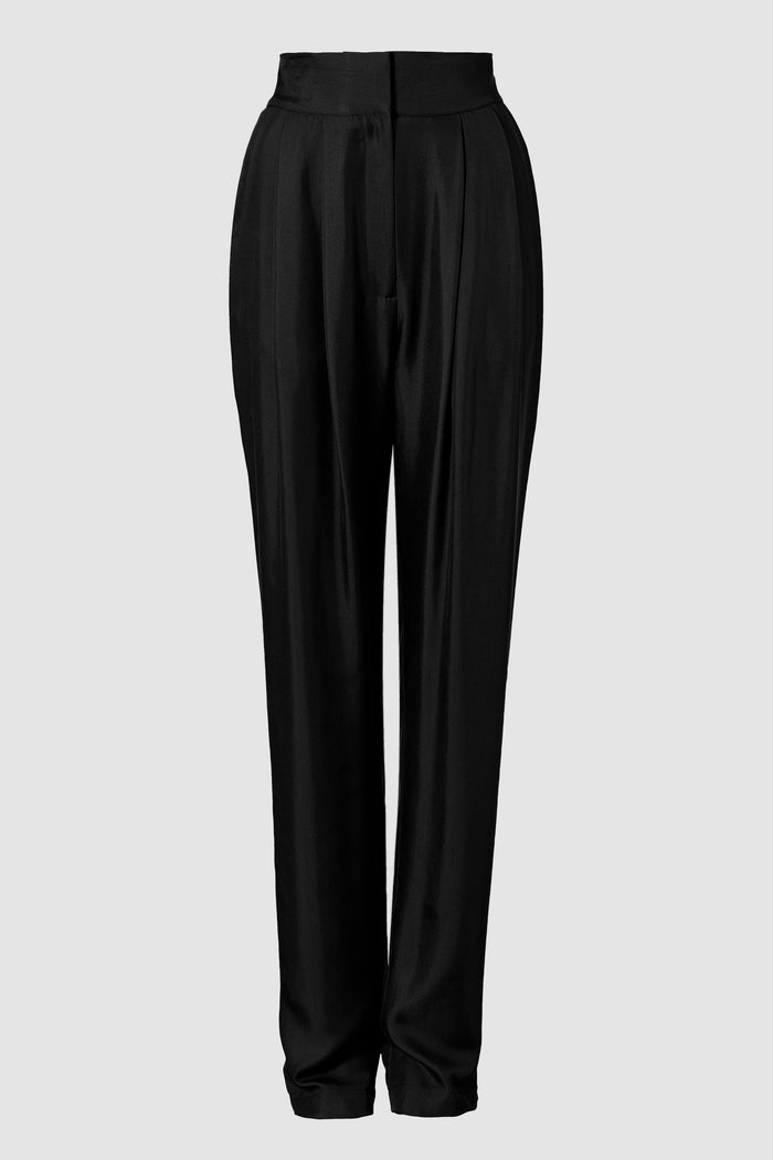 Tove Remi Silk Trouser Black