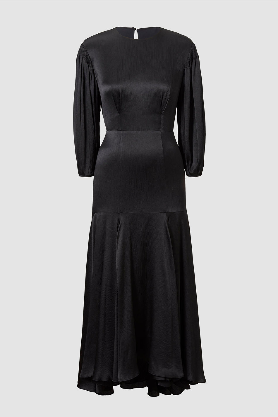 Tove Sabine Silk Dress Black