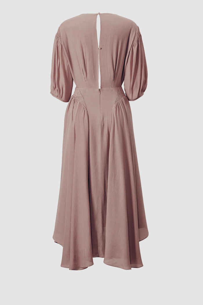 Tove Veda Silk Dress Fawn