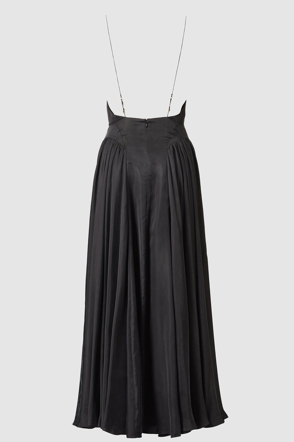 Miri Cupro Maxi Slip Dress