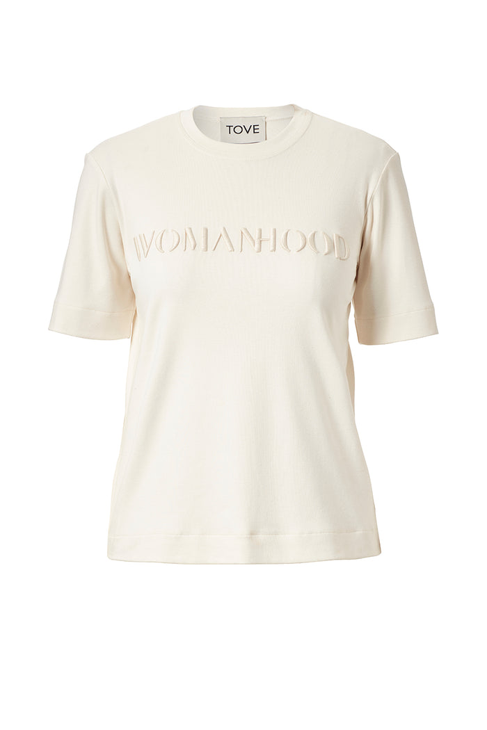 TOVE Studio WOMANHOOD Organic Cotton T-Shirt