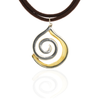 Mother Earth Spiral Necklace
