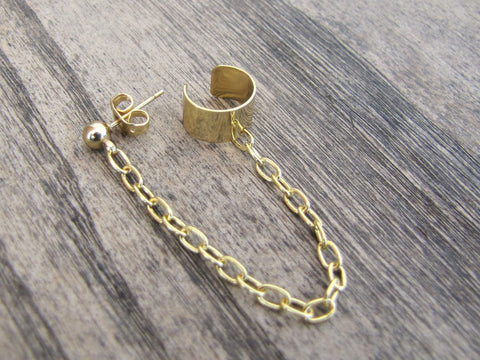 Gold Ear Cuff (Single)