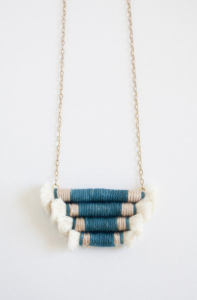 Gamma Folk Necklace No. 11