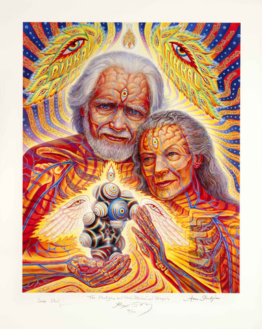 Alex Grey - The Shulgins and their Alchemical Angels