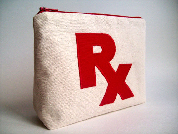 RX Medicine and Toiletry Bag