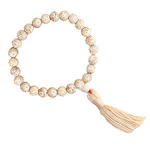 Wrist Mala - Lotus Seed with Drawsting Bag
