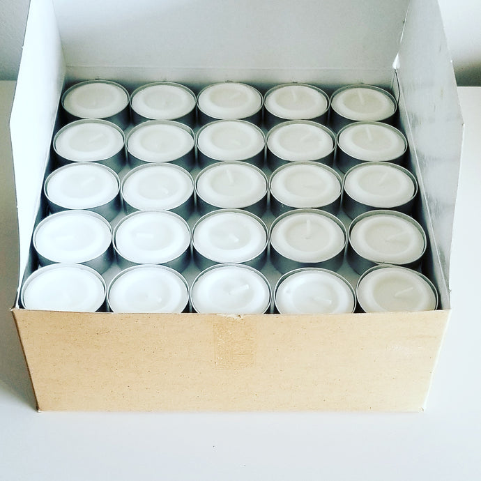 Tea Light Candles - 100/pack